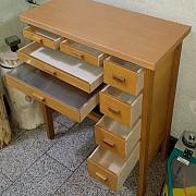 국산(벽1인용)책상