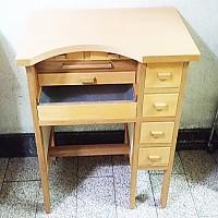 국산(벽1인용홈)책상